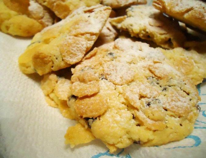 Ricetta Biscotti Semplici.Biscotti Corn Flakes