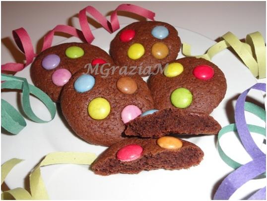 spesso Biscottini di Carnevale, dolci e colorati. OT16