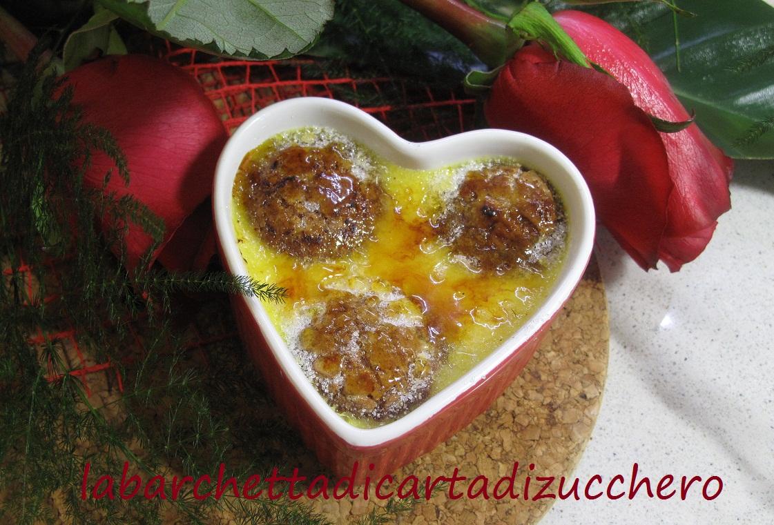 Crème brûlée agli Amaretti d'Italia Matilde Vicenzi