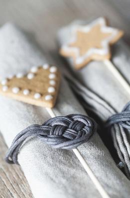 Natale: Biscottini segnaposto di Matilde