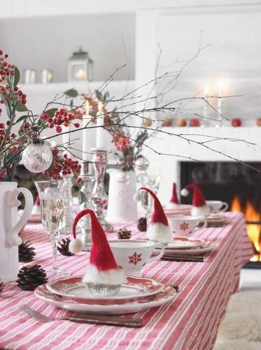 Natale: la tavola