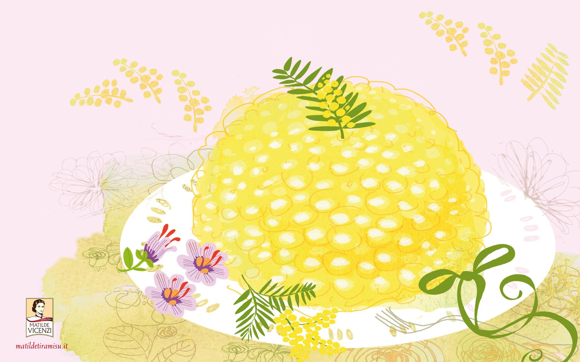 Sfondo PC ricetta torta - MatildeTiramiSu