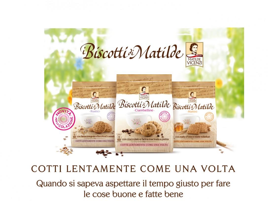 Colazione o the delle 5? I biscotti di Matilde Vicenzi vanno sempre bene!