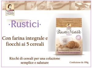Rustici: Biscotti per Colazione Matilde Vicenzi