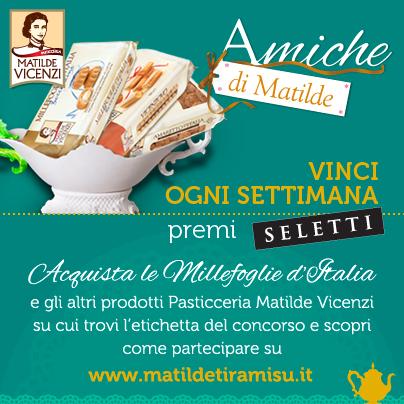 Concorso Matilde Vicenzi con Millefoglie Amaretti e Savoiardi