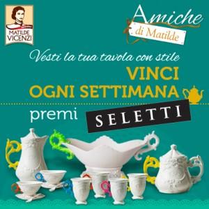 Premi Seletti del Concorso Amiche di Matilde Vicenzi