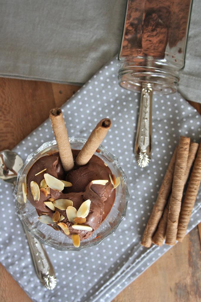 gelato al cacao