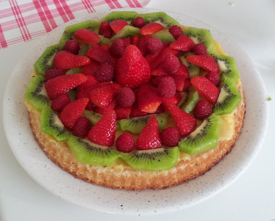 Crostata di frutta per Matilde