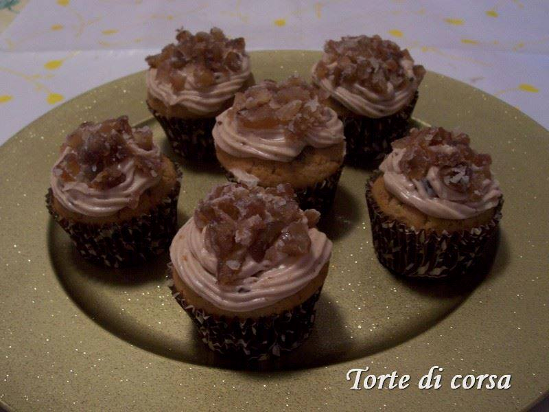Cupcakes-crema-marroni