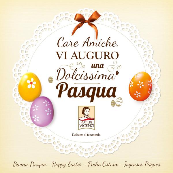 Pasticceria Matilde Vicenzi augura Buona Pasqua!