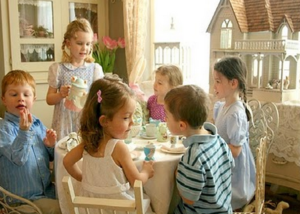 Come ricevere gli ospiti e i loro figli, di Matilde Vicenzi
