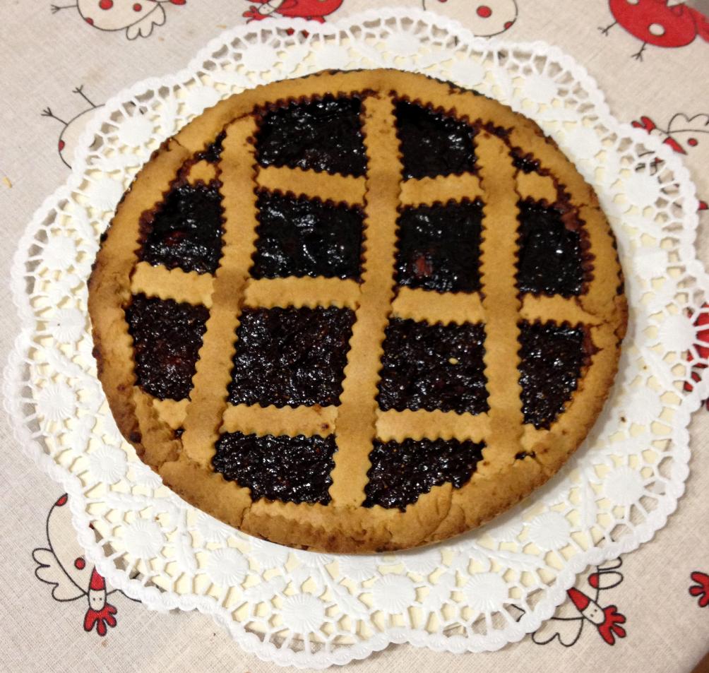Crostata con marmellate fatte in casa for Marmellate fatte in casa senza zucchero