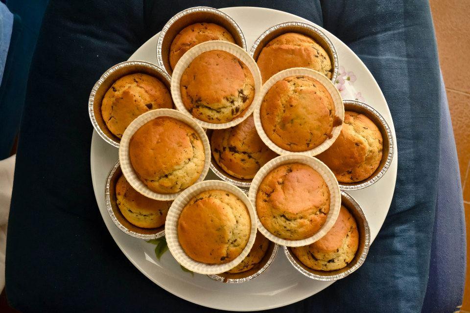 muffin cocco cioccolato