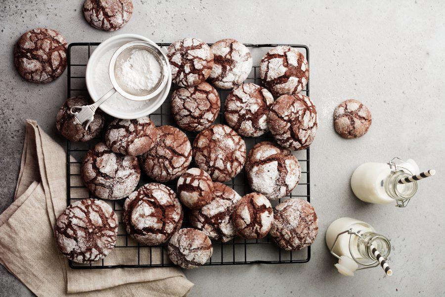 Sara Cucina Biscotti Di Natale.Biscotti Al Cioccolato Ricetta Biscotti Morbidi E Veloci Da Realizzare
