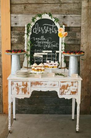Buffet di dolci, dal blog Matilde Vicenzi