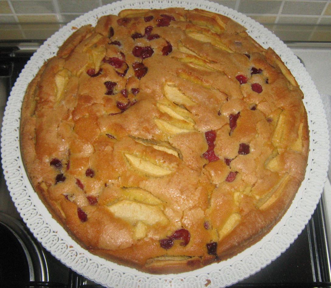 torta-mele-ciliegie