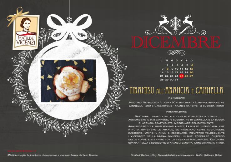 Da Matilde Vicenzi, il Calendario del TiramiSu 2015, gratis per te!