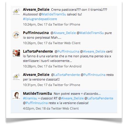 Matilde Vicenzi Twitter