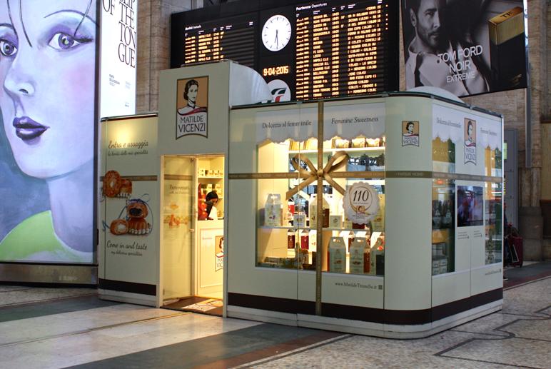 In Stazione Centrale a Milano fino all'8/6/2015: il Temporary Shop di Matilde Vicenzi