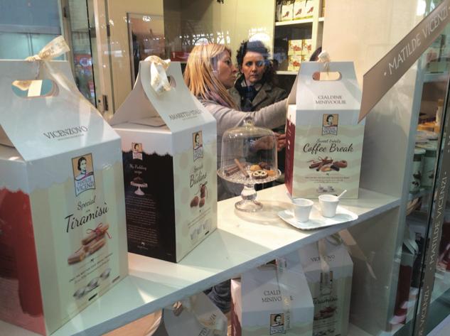 Nel Temporary Shop di Matilde Vicenzi, nel salone della Stazione Centrale di Milano