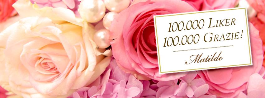 Ricette di dolci Matilde Vicenzi su Facebook: 100.000 liker! Grazie!
