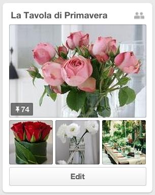 La tavola di Primavera Su Pinterest, da Matilde Vicenzi