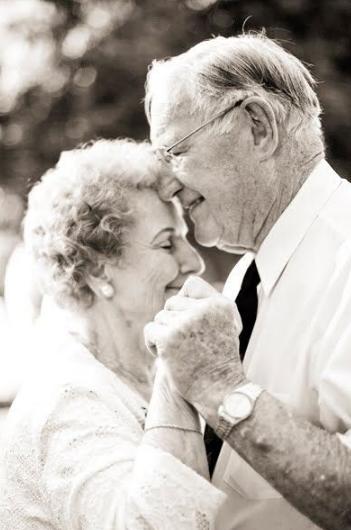 Arte del ricevere e anziani