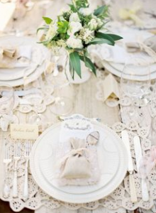 Il bianco per la tavola estiva, secondo Matilde Vicenzi