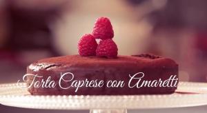 Torta Caprese Amaretti (Video in LIS Lingua Italiana dei Segni)