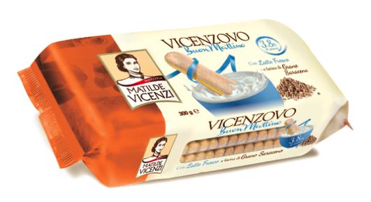 Savoiardo Matilde Vicenzi per la prima colazione