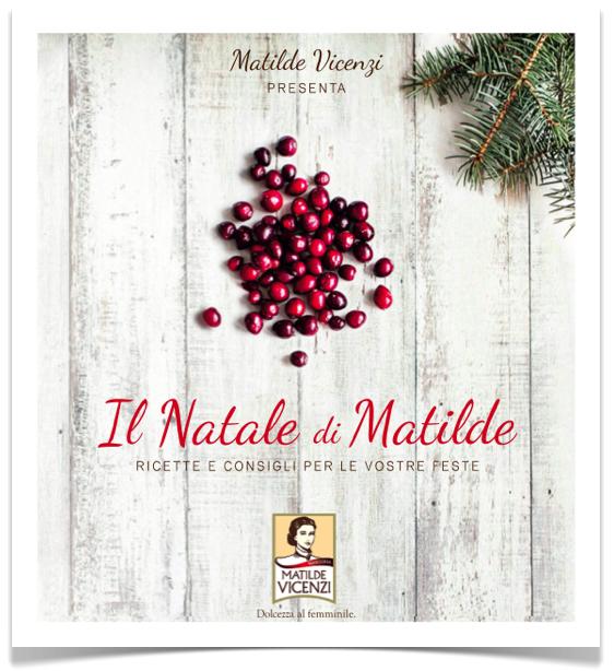 Ebook di Natale di Matilde Vicenzi con le ricette di dolci