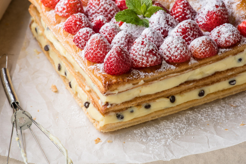 Idee Per Decorare Una Torta torta millefoglie perfetta