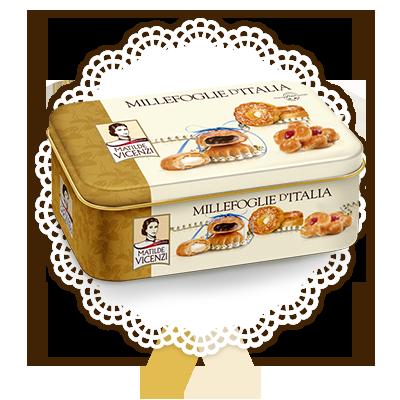 Millefoglie d'Italia, latta con selezione
