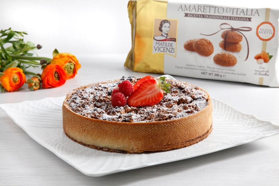 Torta Da Credenza Ricetta : Torta con okara di mandorle ricetta unadonna