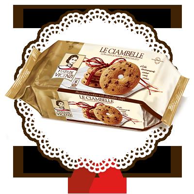 Ciambelle con gocce di cioccolato